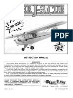 Piper Cub Airplane Kit Manual