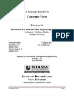 A Seminar Report on Virus