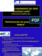 Entrevista PMBoK PMI