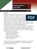 NT-FTIR-011-Prep Pastilhas KBr Para FTIR