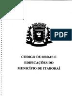 Código de Obras de Itaboraí  2008 PDF