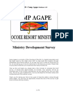 2011 Camp Ministry Survey