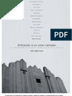 La Arquitectura de Las Salas de Cine de Lima en El Siglo XX