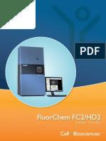 FluorChem FC2 HD2 User Guide