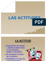 TEMA 9 LAS ACTITUDES 2010