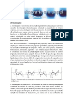Cromatografia Papel Roteiro