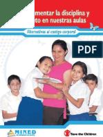 Libro Disciplina y Respeto Aulas Nicaragua