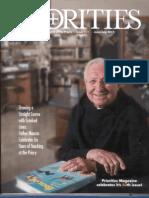 Interview with Terrence Gargiulo in Priorities Magazine