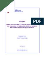 SIT N 146 Informe Derechos Extracciones Tasa Consumo Agua Sector Minero Rev
