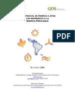 El Potencial de America Latina Energia Renovable