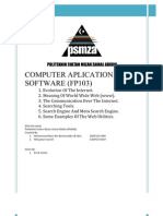 Computer Aplication and Software