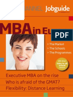 MBA in Europe 2011