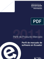 Perfil de Mercado de Software en Ecuador