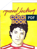 Michael Jackson Coloring Book [1985]