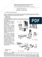CLASIFICACIÓN Y ESTRUCTURA DE LOS MUEBLES