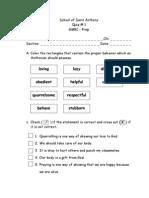 GMRC (Quiz1&2)