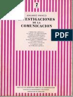 El Vídeo Dentro de la Estructura del Sistema de Comunicaciones. Dos puntos de Partida