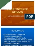 CORRIENTES DE OPINIÓN