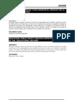 EDUCACIÓN, SEGURIDAD Y EXCLUSIÓN EN EL URUGUAY DE LA REFORMA EDUCATIVA
