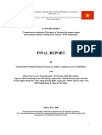 Comprehensive Evaluation of the Impact of Increased Key Imports-Exports and Regulatory Changes Resulting from Vietnam's WTO