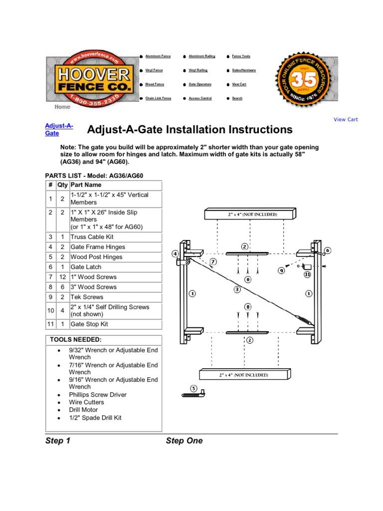 Adjust A Gate Screw Manufactured Goods Lift Master Swing Wiring Diagram