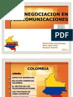 Economia y Telecomunicaciones Colombia