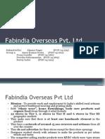 Fabindia Overseas Pvt Group 9