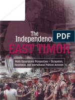 East Timor 1998 Fracturing the Consensus
