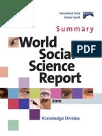 UNESCO - World Social Science Report