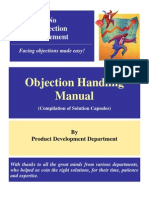 Objection Handling Manual[1]