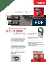 Micro Disco Duro Imation Datasheet Español