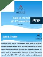 E1 Transactions