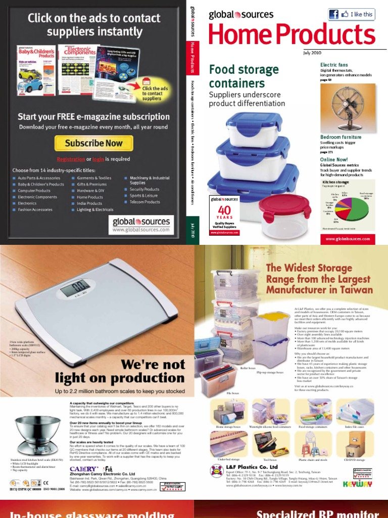 Global Sources - 2010 July - Home Products | Home Appliance | Kitchen Stove