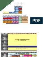 Tentative Schedule- Sp2011