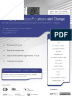 The issues behind Business Process Management and Change