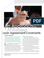 Loan Convenants