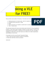 VLE for Free