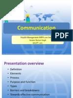 Communication (HM)