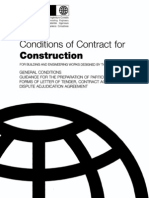 FIDIC-Conditions of Contract 1999