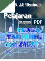 Pelajaran Mengenai Puasa, Tarawih & Zakat