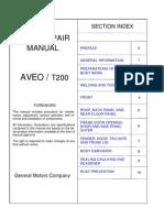 AVEO - Body Repair Manual