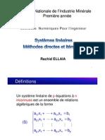 chap1-Systèmes linéaires