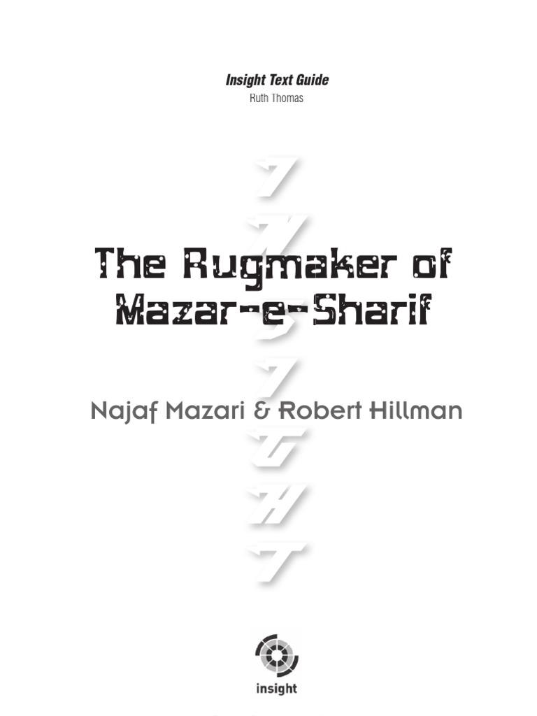 the rugmaker of mazar-e-sharif conflict essay