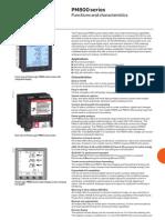 Digital Power Meter-PM 800 Series