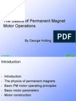 Basic Motor Magnetics and Principles