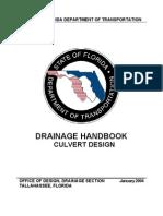 Culvert Design Handbook