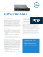 Poweredge R210 II Spec Sheet