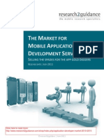 The Market for Mobile Appication Development Services