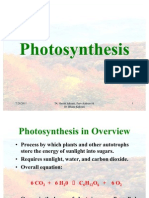 Photosynthesis c