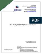 OTT TV White Paper Rel 1 Ver1